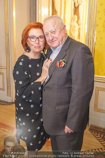 Ausstellungseröffnung Michael Horowitz - Albertina, Wien - Do 27.02.2020 - Inge und Rudolf Purzel KLINGOHR35