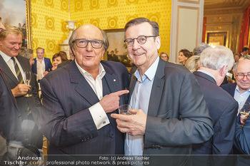 Ausstellungseröffnung Michael Horowitz - Albertina, Wien - Do 27.02.2020 - Michael HOROWITZ, Hans MAHR36