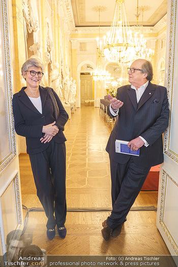 Ausstellungseröffnung Michael Horowitz - Albertina, Wien - Do 27.02.2020 - Michael und Angelika HOROWITZ41