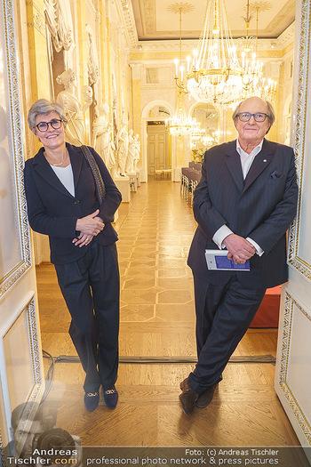 Ausstellungseröffnung Michael Horowitz - Albertina, Wien - Do 27.02.2020 - Michael und Angelika HOROWITZ42