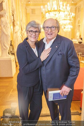 Ausstellungseröffnung Michael Horowitz - Albertina, Wien - Do 27.02.2020 - Michael und Angelika HOROWITZ43