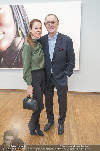 Ausstellungseröffnung Michael Horowitz - Albertina, Wien - Do 27.02.2020 - Hans SCHMIDT mit Ehefrau Petra44