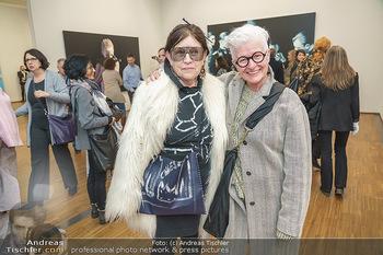 Ausstellungseröffnung Michael Horowitz - Albertina, Wien - Do 27.02.2020 - Marianne KOHN, Inge PRADER45