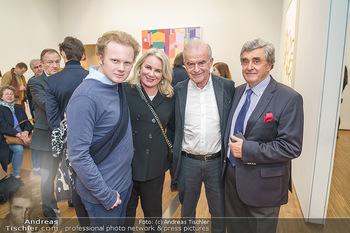 Ausstellungseröffnung Michael Horowitz - Albertina, Wien - Do 27.02.2020 - Familie Rudi und Isabella KLAUSNITZER mit Sohn Rafael, Michael G48