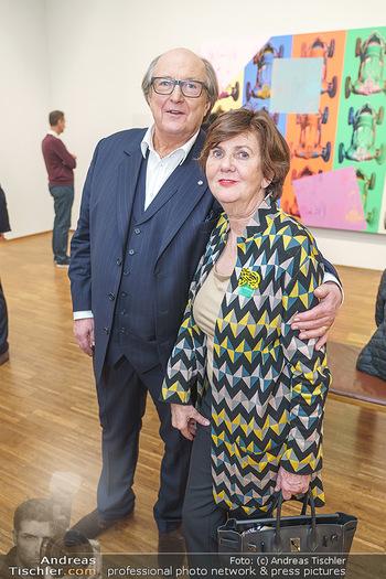 Ausstellungseröffnung Michael Horowitz - Albertina, Wien - Do 27.02.2020 - Michael HOROWITZ, Helga RABL-STADLER51