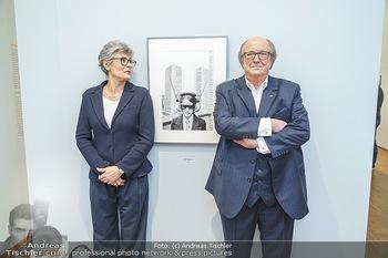 Ausstellungseröffnung Michael Horowitz - Albertina, Wien - Do 27.02.2020 - Michael und Angelika HOROWITZ54