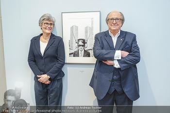Ausstellungseröffnung Michael Horowitz - Albertina, Wien - Do 27.02.2020 - Michael und Angelika HOROWITZ55