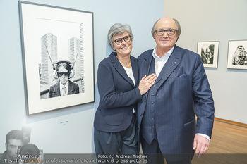 Ausstellungseröffnung Michael Horowitz - Albertina, Wien - Do 27.02.2020 - Michael und Angelika HOROWITZ56