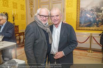 Ausstellungseröffnung Michael Horowitz - Albertina, Wien - Do 27.02.2020 - Michael SCHOTTENBERG, Rudi KLAUSNITZER60