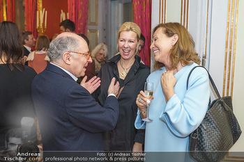 Ausstellungseröffnung Michael Horowitz - Albertina, Wien - Do 27.02.2020 - Georg MARKUS mit Ehefrau Daniela MARKUS, Alexandra HILVERTH62
