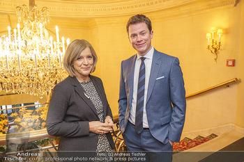 Pressekonferenz zur Romy Gala 2020 - Grand Hotel, Wien - Di 03.03.2020 - Ingrid THURNHER, Tobias PÖTZELSBERGER2