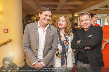 Pressekonferenz zur Romy Gala 2020 - Grand Hotel, Wien - Di 03.03.2020 - Harald WINDISCH, Brigitte HOBMEIER, Cornelius OBONYA4
