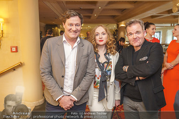 Pressekonferenz zur Romy Gala 2020 - Grand Hotel, Wien - Di 03.03.2020 - Harald WINDISCH, Brigitte HOBMEIER, Cornelius OBONYA5
