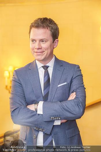 Pressekonferenz zur Romy Gala 2020 - Grand Hotel, Wien - Di 03.03.2020 - Tobias PÖTZELSBERGER (Portrait)7