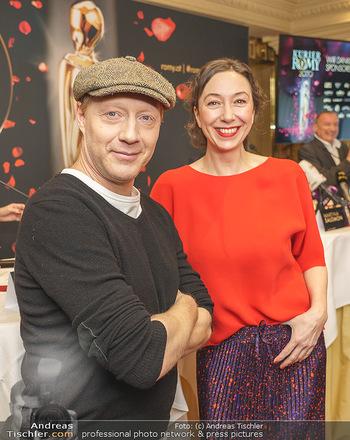 Pressekonferenz zur Romy Gala 2020 - Grand Hotel, Wien - Di 03.03.2020 - Simon SCHWARZ, Ursula STRAUSS10