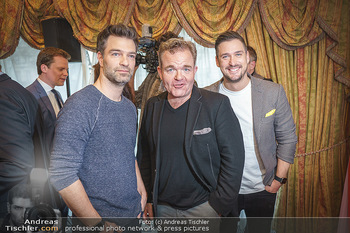 Pressekonferenz zur Romy Gala 2020 - Grand Hotel, Wien - Di 03.03.2020 - Jakob SEEBÖCK, Cornelius OBONYA, Andy MORAVEC16