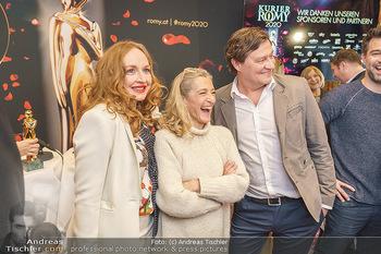 Pressekonferenz zur Romy Gala 2020 - Grand Hotel, Wien - Di 03.03.2020 - Harald WINDISCH, Brigitte HOBMEIER, Kathrin ZECHNER17