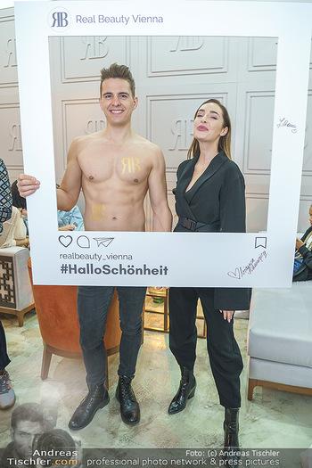 Salon Opening - Real Beauty Vienna - Mi 04.03.2020 - Philipp KNEFZ, Tatjana KREUZMAYR26