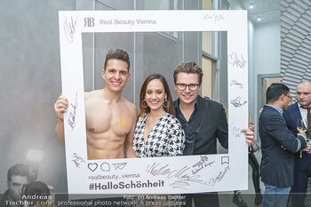 Salon Opening - Real Beauty Vienna - Mi 04.03.2020 - Philipp KNEFZ, Sasa SCHWARZJIRG, Adi WEISS91