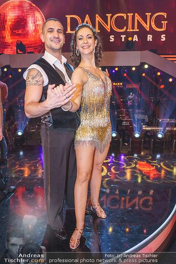 Dancing Stars 2020 Auftakt - ORF Zentrum - Sa 07.03.2020 - Marcos NADER, Alexandra SCHERIAU31