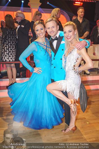 Dancing Stars 2020 Auftakt - ORF Zentrum - Sa 07.03.2020 - Michi KIRCHGASSER, Willi GABALIER mit Freundin Christiana LEUTHN32