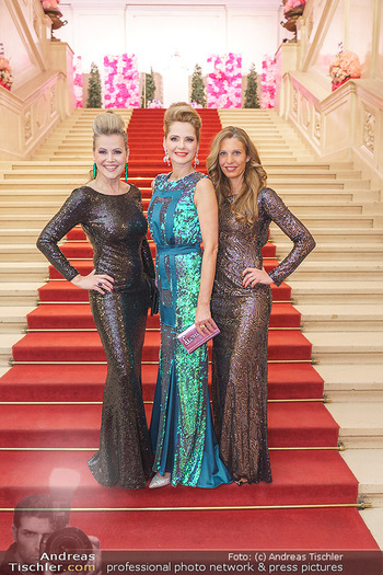 Dancer against Cancer Ball - Hofburg Wien - Fr 06.03.2020 - Evelyn RILLE, Susanne HOFFMANN, Verena PFLÜGER15