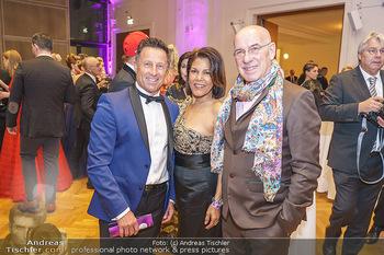 Dancer against Cancer Ball - Hofburg Wien - Fr 06.03.2020 - Hans ENN, Otto und Shirley RETZER24