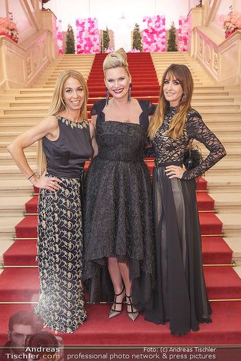 Dancer against Cancer Ball - Hofburg Wien - Fr 06.03.2020 - Natasha HENSTRIGDE, Nelly BAUMANN, Yvonne RUEFF40