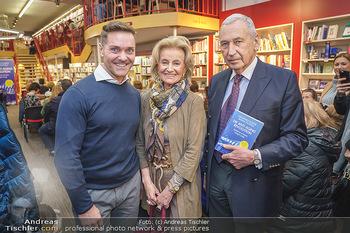 Buchpräsentation ´Die Anti-Aging Revolution´ - Buchhandlung Herder, Wien - Mo 09.03.2020 - Bernd ÖSTERLE, Johannes HUBER, Elisabeth GÜRTLER1