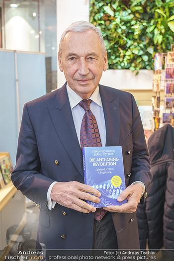 Buchpräsentation ´Die Anti-Aging Revolution´ - Buchhandlung Herder, Wien - Mo 09.03.2020 - Johannes HUBER10
