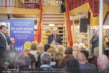Buchpräsentation ´Die Anti-Aging Revolution´ - Buchhandlung Herder, Wien - Mo 09.03.2020 - Johannes HUBER30