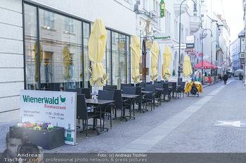 Coronavirus COVID-19 Feautre - Wien - Do 12.03.2020 - Nichts los wegen Coronavirus Gastronomie, Restaurants trotz Frü41