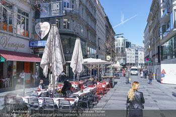 Coronavirus COVID-19 Feautre - Wien - Do 12.03.2020 - Nichts los wegen Coronavirus Gastronomie, Restaurants trotz Frü43