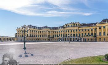 Corona Lokalaugenschein - Wien - Mo 16.03.2020 - Schloss Schönbrunn menschenleer Park ausgestorben wegen Coronav8