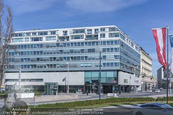 Corona Lokalaugenschein - Wien - Mo 16.03.2020 - Firmenzentrale, Redaktion, Newsroom der Tageszeitung Österreich28