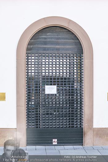 Corona Lokalaugenschein - Wien - Mo 16.03.2020 - Geschäfte geschlossen wegen Coronavirus Epidemie, Ausgangssperr43