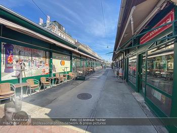 Corona Lokalaugenschein - Wien - Mo 16.03.2020 - geschlossene Lokale Geschäfte Restaurants am Wiener Naschmarkt 54