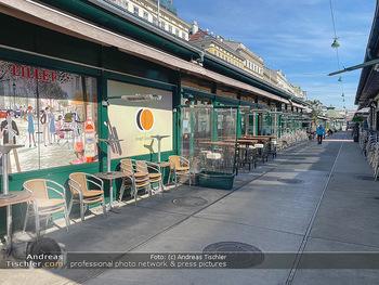 Corona Lokalaugenschein - Wien - Mo 16.03.2020 - geschlossene Lokale Geschäfte Restaurants am Wiener Naschmarkt 55
