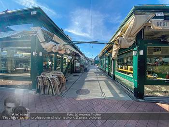 Corona Lokalaugenschein - Wien - Mo 16.03.2020 - geschlossene Lokale Geschäfte Restaurants am Wiener Naschmarkt 56
