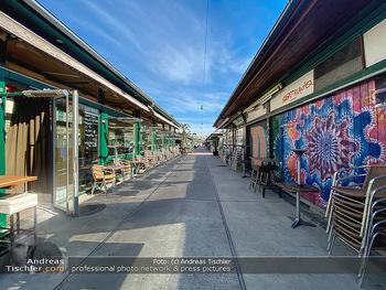 Corona Lokalaugenschein - Wien - Mo 16.03.2020 - geschlossene Lokale Geschäfte Restaurants am Wiener Naschmarkt 57