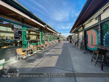Corona Lokalaugenschein - Wien - Mo 16.03.2020 - geschlossene Lokale Geschäfte Restaurants am Wiener Naschmarkt 58