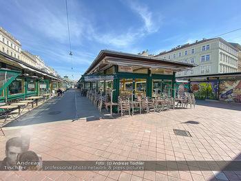 Corona Lokalaugenschein - Wien - Mo 16.03.2020 - geschlossene Lokale Geschäfte Restaurants am Wiener Naschmarkt 59