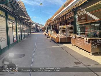 Corona Lokalaugenschein - Wien - Mo 16.03.2020 - geschlossene Lokale Geschäfte Restaurants am Wiener Naschmarkt 61