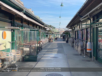 Corona Lokalaugenschein - Wien - Mo 16.03.2020 - geschlossene Lokale Geschäfte Restaurants am Wiener Naschmarkt 63