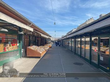 Corona Lokalaugenschein - Wien - Mo 16.03.2020 - geschlossene Lokale Geschäfte Restaurants am Wiener Naschmarkt 65