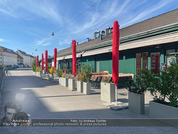 Corona Lokalaugenschein - Wien - Mo 16.03.2020 - geschlossene Lokale Geschäfte Restaurants am Wiener Naschmarkt 66
