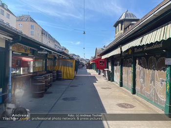 Corona Lokalaugenschein - Wien - Mo 16.03.2020 - geschlossene Lokale Geschäfte Restaurants am Wiener Naschmarkt 68
