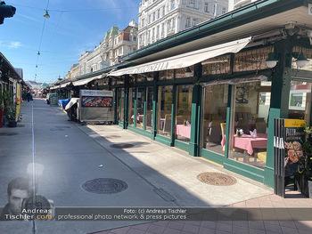 Corona Lokalaugenschein - Wien - Mo 16.03.2020 - geschlossene Lokale Geschäfte Restaurants am Wiener Naschmarkt 69