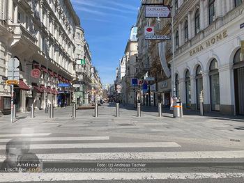 Corona Lokalaugenschein - Wien - Mo 16.03.2020 - Kärntnerstraße Wien wie ausgestorben wegen Ausgangssperre gesc97