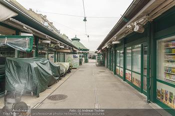 Corona Lokalaugenschein - Wien - Di 17.03.2020 - Geschlossene Lokale am Naschmarkt, Gastronomie geschlossen wegen6